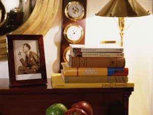 Books in the Library at The Draycott Hotel
