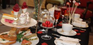 Valentines Day Afternoon Tea at the Draycott hotel