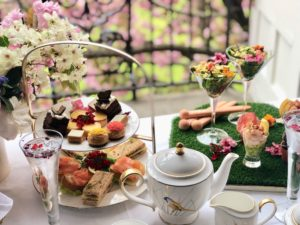 Chelsea Flower Show Afternoon Tea at the Draycott Hotel